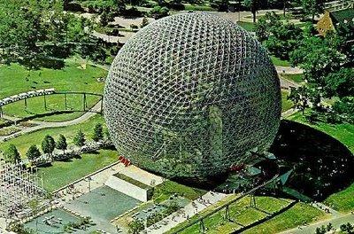 Cupula Geodesica Exposición Universal de Montreal, 1967